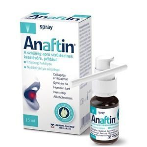 Anaftin Oralni Sprej 1,5% 15 Ml Pomaže Pri Kontroli Boli