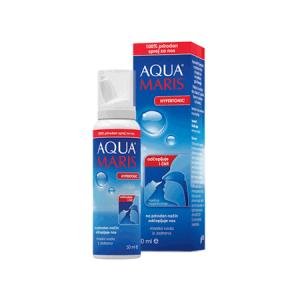 Aqua Maris Strong Hypertonic Sprej Za Nos 30ml Kod Prehlade, Gripe Ili Alergije