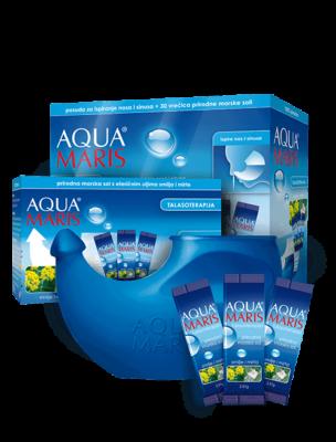 Aqua Maris Talasoterapija Sustav Za Ispiranje Nosa I Sinusavrećice Morske Soli S Et. Uljima 1.png