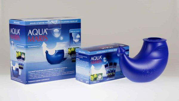 Aqua Maris Talasoterapija Sustav Za Ispiranje Nosa I Sinusa + Vrećice Morske Soli S Eteričnim Uljima 2