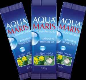 Aqua Maris Vrećice Morske Soli S Eteričnim Uljima Smilje I Mirta 30x295g.png