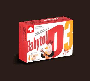 Babytol D3 + Dha Omega 30 Kapsula Za Zdrav Vid I Razvoj Mozga