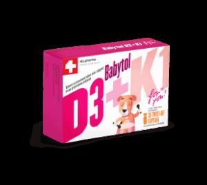Babytol D3+k1 30 Kapsula Za Novorođenčad