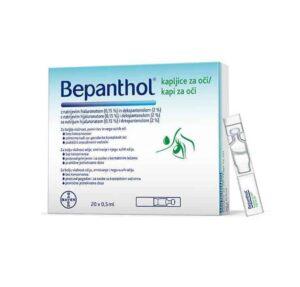 Bepanthol Kapi Za Oči Monodoze, 20 X 0,5ml