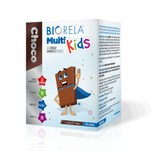 Biorela Choco Multi Kids 20 Čokoladica