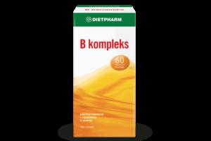 Dietpharm B Kompleks 60 Tableta Za Žvakanje Za Zdravlje Živčanog Sustava.png