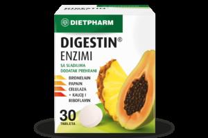 Dietpharm Digestin Enzimi 30 Tableta Za Nadoknadu Probavnih Enzima.png
