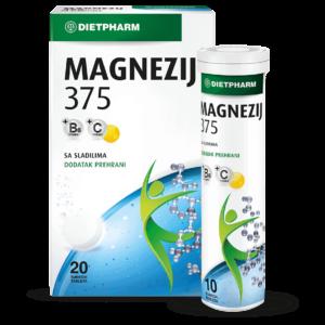 Dietpharm Magnezij 375 20 Šumećih Tableta.png