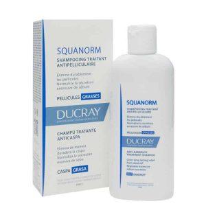Ducray Squanorm Šampon Protiv Masne Prhuti 200ml