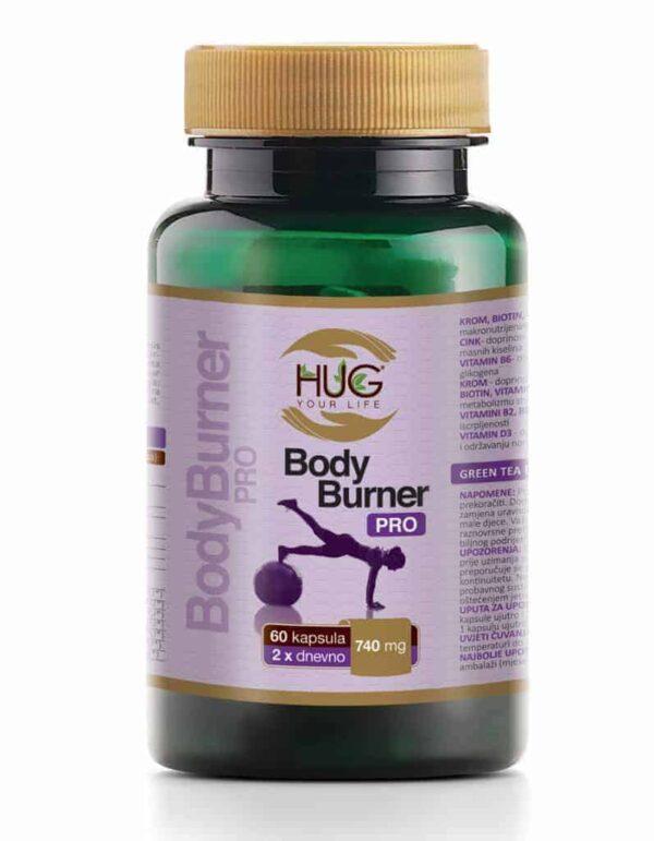 Hug Bodyburner Pro 60 Kapsula Za Sagorijevanje Masnoća I Smanjenje Apetita