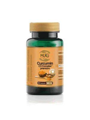 Hug Curcumin C3 Complex Premium 60 Kapsula Za Normalnu Funkciju Imunološkog Sustava