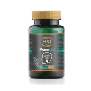 Hug Memomax 60 Kapsula Za Očuvanje Funkcija Mozga I Koncentraciju S Koenzimom Q10