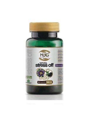 Hug Natural Stress Off 30 Kapsula Za Ublažavanje Napetosti, Stresa I Uznemirenosti