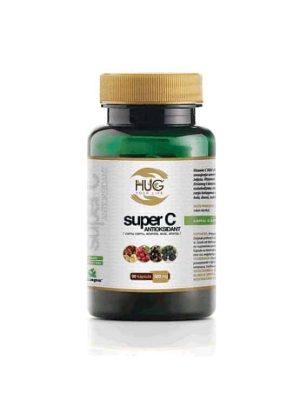Hug Super C Antioksidans 60 Kapsula Iz 4 Vrste Voća