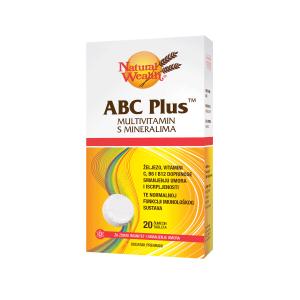 Natural Wealth Abc Plus™ 20 Šumećih Tableta Smanjenje Umora I Iscrpljenosti