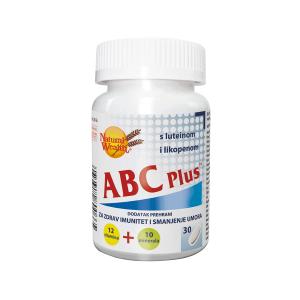Natural Wealth Abc Plus™ 30 Tableta 12 Vitamina, 10 Minerala, Lutein I Likopen