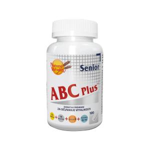 Natural Wealth Abc Plus™ Senior 100 Tableta Nadopuna U Zrelim Godinama