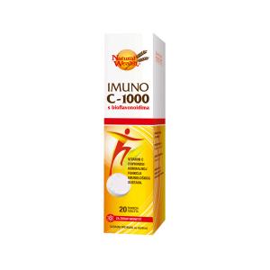 Natural Wealth Imuno C 1000 S Bioflavonoidima 20 Šumećih Tableta Za Imunitet