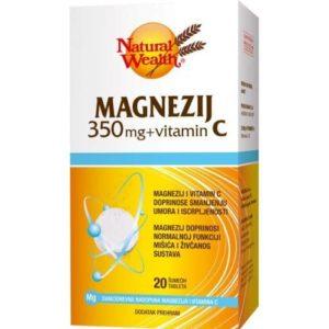 Natural Wealth Magnezij 350 Mg Vitamin C 20 Šumećih Tableta.jpg