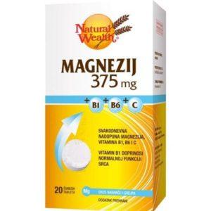 Natural Wealth Magnezij 375 Mg B1 B6 C 20 Šumećih Tableta.jpg