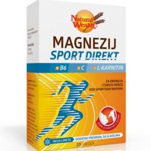 Natural Wealth Magnezij Sport Direkt B6 C L Karnitin 20 Vrećica.jpg