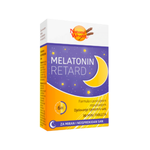 Natural Wealth Melatonin Retard 30 Tableta Za Lakše Uspavljivanje I Bolji San