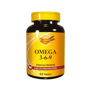 Natural Wealth Omega 3 6 9 60 Kapsula Idealan Unos Svih Potrebnih Masnih Kiselina