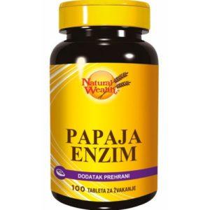 Natural Wealth Papaja Enzim Tablete Za Žvakanje.jpg