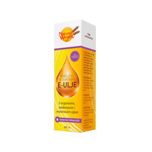 Natural Wealth Prirodno Vitaminsko E Ulje 60 Ml Hrani I Omekšava Suhu Kožu