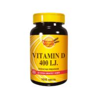 Natural Wealth Vitamin D 400 I.j. 100 Tableta