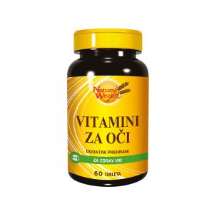 Natural Wealth Vitamini Za Oči 60 Tableta Za Održavanje Vida