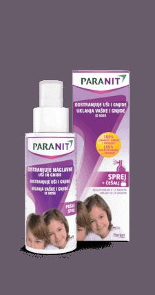 Paranit Sprej Protiv Ušiju I Gnjida 100ml Jednostavna Upotreba
