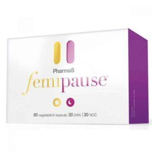 Pharmas Femipause 60 Kapsula Melatonin I Ljekovite Biljke Kod Simptoma Menopauze