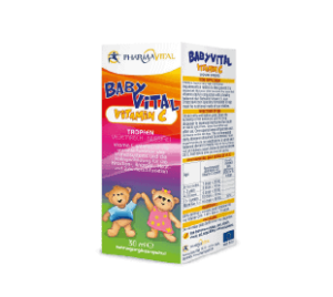 Pharmavital Babyvital Vitamin C Kapi 30 Ml Za Nutritivne Potrebe Djeteta