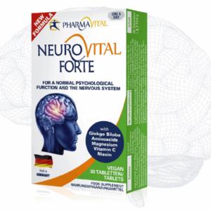 Pharmavital Neurovital Forte 30 Tableta Poboljšavaju Rad Mozga, Koncentraciju I Pamćenje