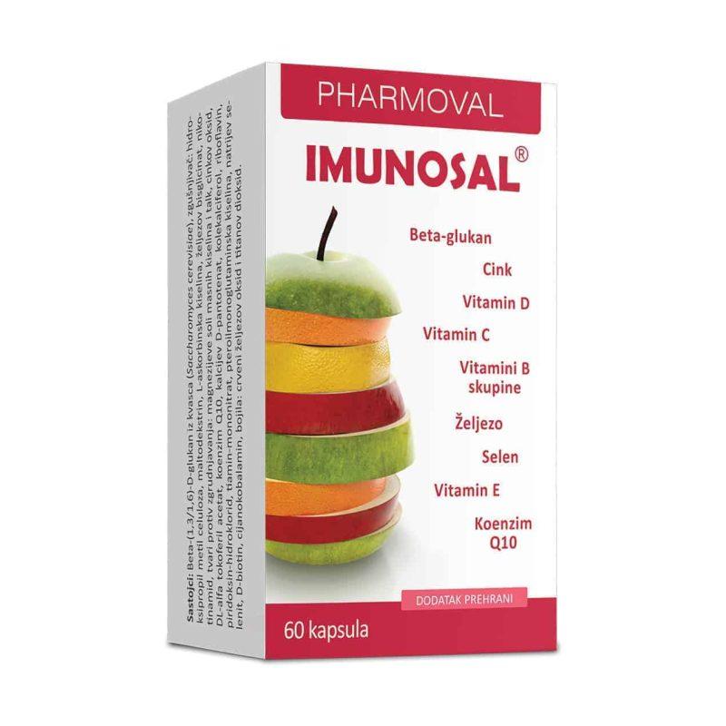 Pharmoval Imunosal 60 Kapsula Za Smanjenje Umora I Iscrpljenosti