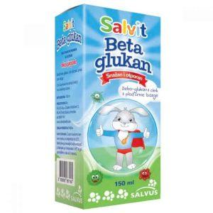Salvit Beta Glukan Sirup 150ml S Cinkom I Ekstraktom Ploga Bazge