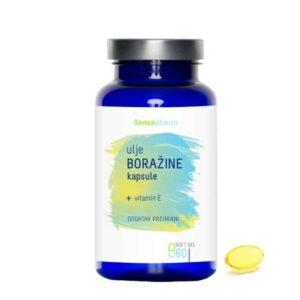 Sensapharm Kapsule Ulje Boražine 60 Kapsula Pokreće Metabolizam I Održava Hormonsku Ravnotežu