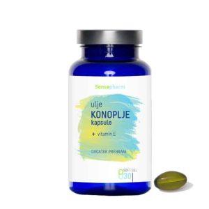 Sensapharm Kapsule Ulje Konoplje 30 Kapsula Ublažuje Kronične Bolesti I Održavan Hormonalnu Ravnotežu