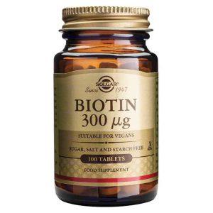 Solgar Biotin 100 Tableta