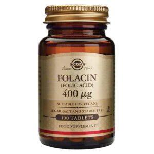 Solgar Folacin 400 Mg 100 Tableta Za Žene Generativne Dobi 1