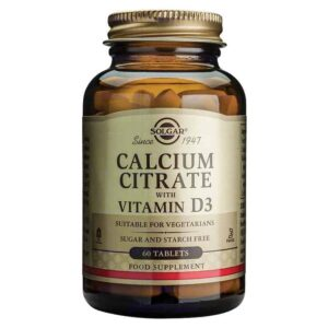 Solgar Kalcij Citrat Plus Vitamin D3 60 Tableta