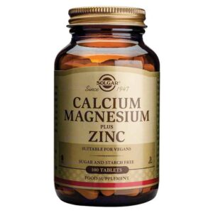 Solgar Kalcij Magnezij Plus Cink 100 Tableta