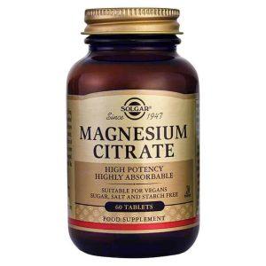 Solgar Magnezij Citrat 60 Tableta