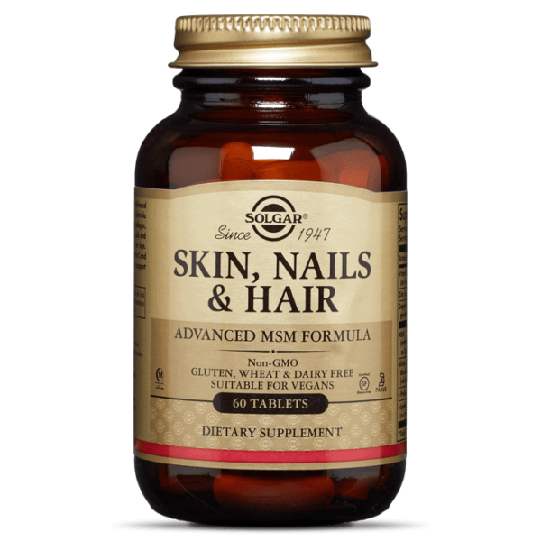 Solgar Skin Nails And Hair 60 Tableta Za Održavanje Normalne Kose, Kože I Noktiju