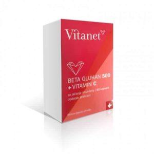 Vitanet Beta Glukan 500 Vitamin C 60 Kapsula.jpg