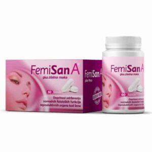Femisan A 60 Kapsula Prirodna Formula Za Žene Za Plodnost, Reprodukciju I Trudnoću