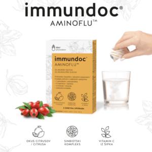 Immundoc Aminoflu 3 Vrećice Za Poticanje Imunološkog Sustava