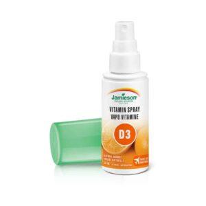 Jamieson Vitamin D3 Sprej 1000 Ie, 58ml, 125 Doza 2