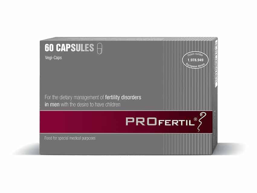 Profertil, 60 Ili 180 Kapsula, Za Nutritivnu Potporu Muškoj Plodnosti